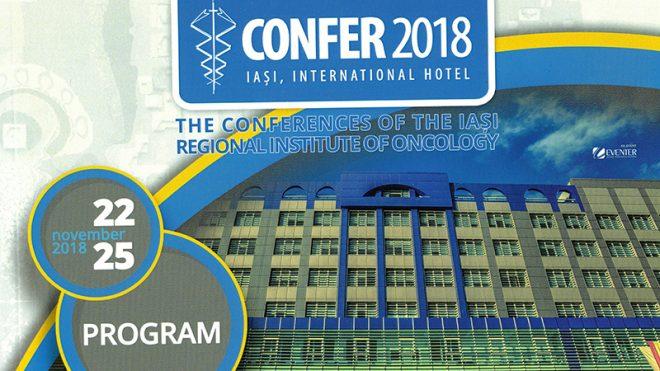 """CONFER 2018 - DIE KONFERENZEN DES """"IASI REGIONAL INSTITUTE OF ONCOLOGY"""""""