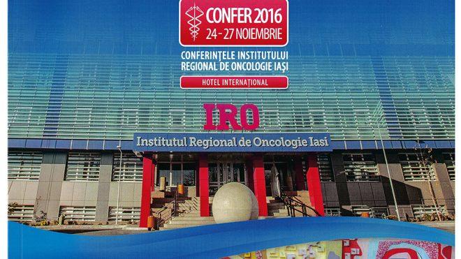 """CONFER 2016 - DIE KONFERENZEN DES """"IASI REGIONAL INSTITUTE OF ONCOLOGY"""""""